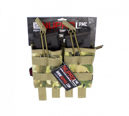 Nuprol G36 Double Open Mag Pouch NP Camo