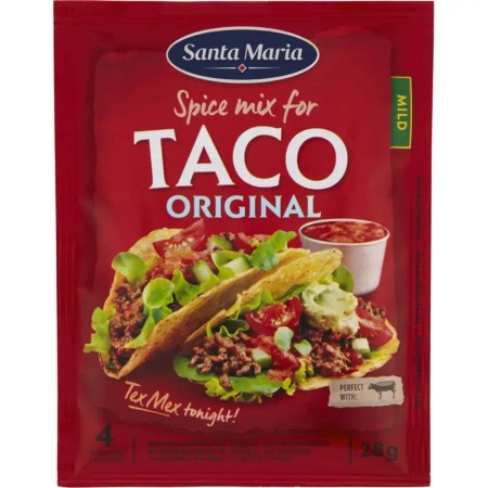 Santa Maria Taco Spice Mix For Taco Mild