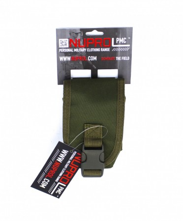 Nuprol PMC Radio/Grenade Pouch Green