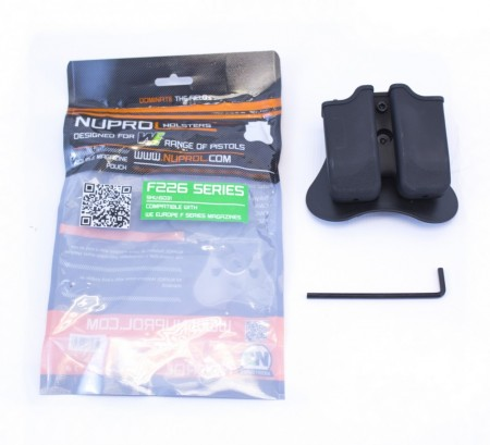 Nuprol F series (P226) Double Magazine Pouch