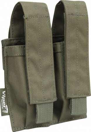 Viper Double Pistol Mag Pouch Green