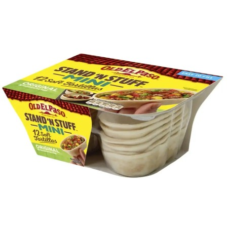 Old El Paso Tortilla Stand´n Stuff Mini 12stk