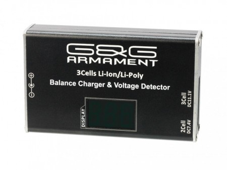 G&G LiPo Balance Charger w/ Voltage Detector